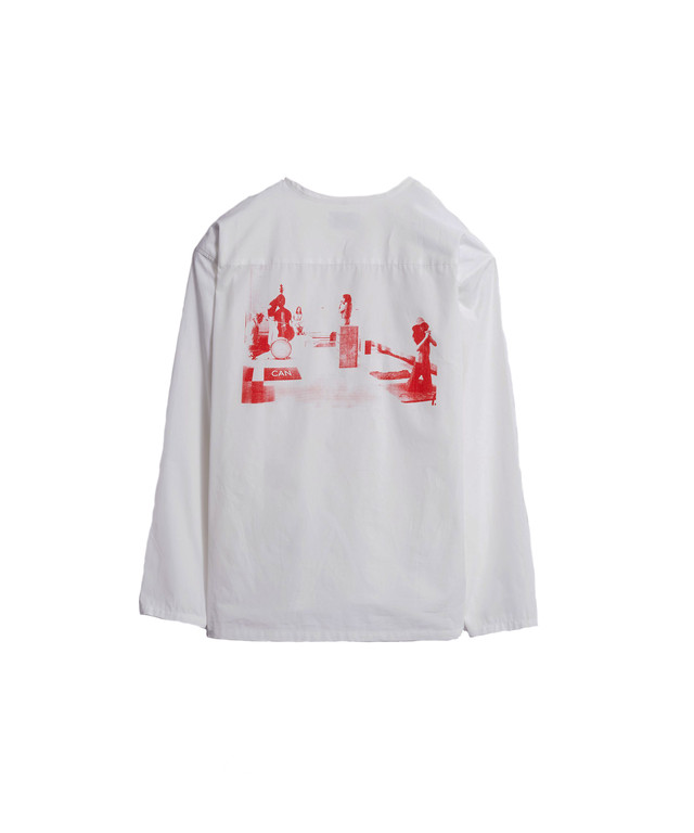 LEMAIRE REHEARSAL PRINTED TOP White M 201 TO126 LF465