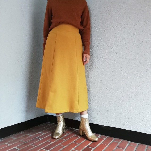 BANAL Comfort Wear (ジャージーフレアスカート)