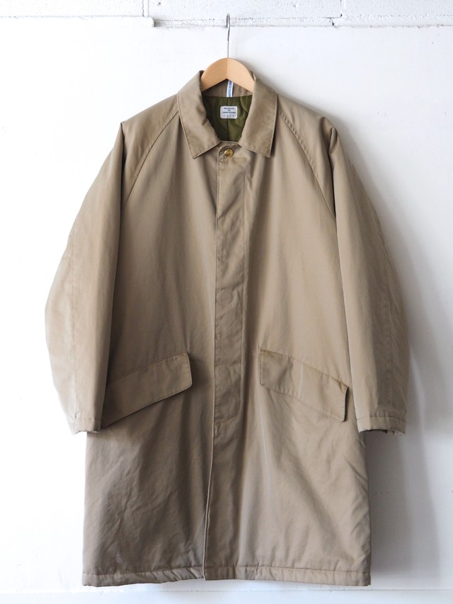 N.O.UN Coat Ⅱ Beige,Navy