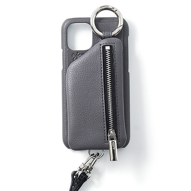 ajew   cadenas zipphone zase shoulder    GRAY    iPhoneXsMax/11ProMax