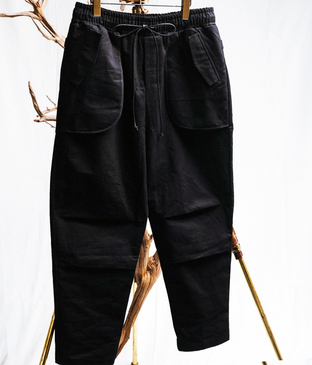 JOE CHIA - Mens woven inverted pocket pants - PA04