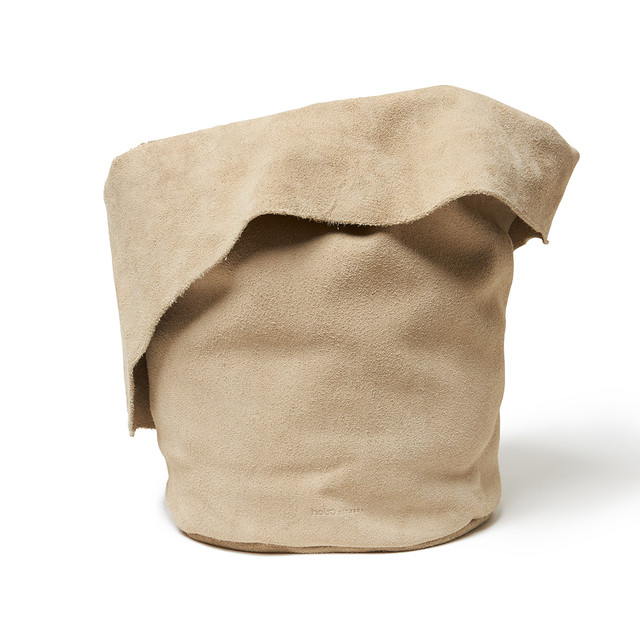 【hobo】Cow Suede Pot Plant Cover(L)