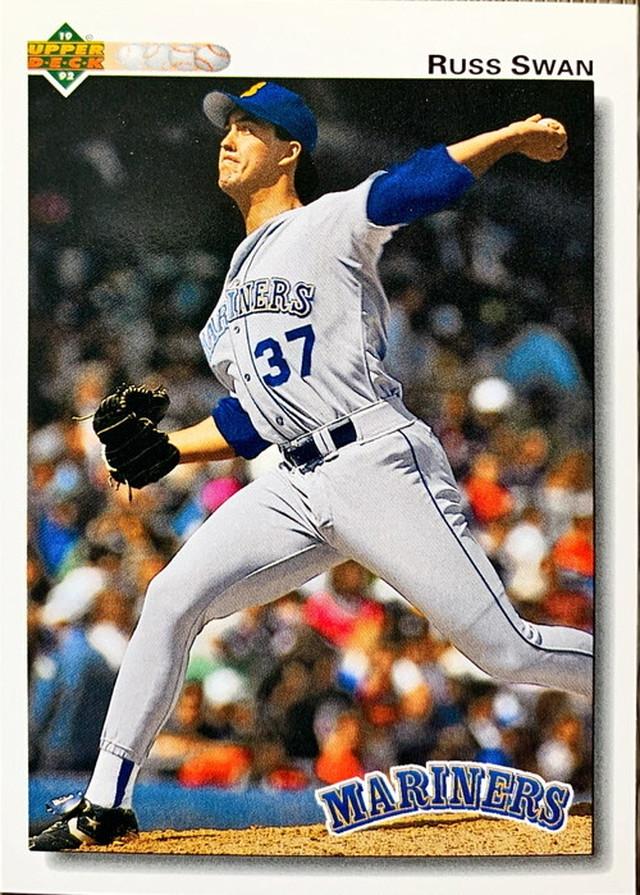 MLBカード 92UPPERDECK Russ Swan #618 MARINERS