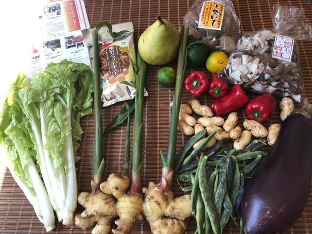 【完売御礼】ベジバルーンセット10月(神無月)『秋の十三夜 おいしい名月にふさわしい野菜たち』※写真は9月に出荷したベジバルーンです。