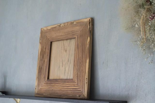 工房 流木人 時を経た木のフレーム(額縁) 【 rf_0002 】
