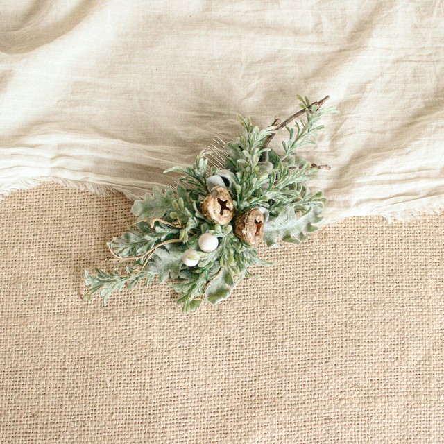 """Hair ornament for """"Forest Bouquet """""""