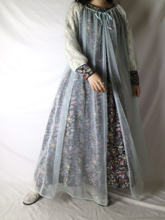 sheer gown【0712】