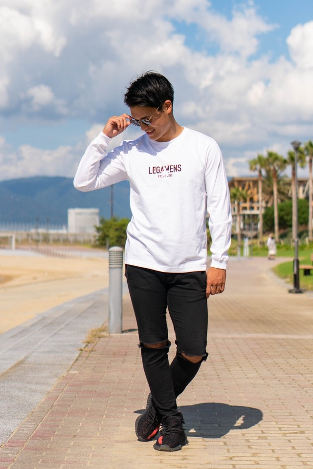 LMS forever long sleeve / white