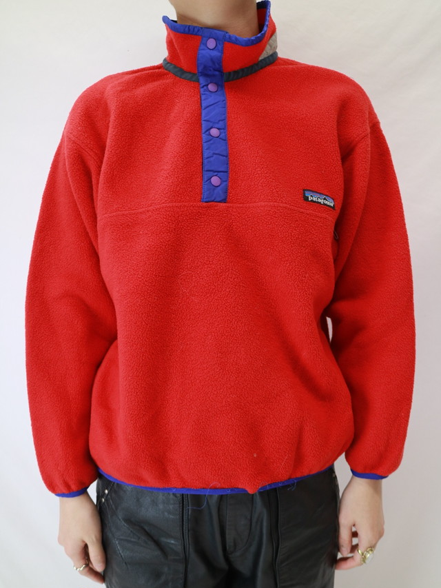 Patagonia fleece snap T 【0476】