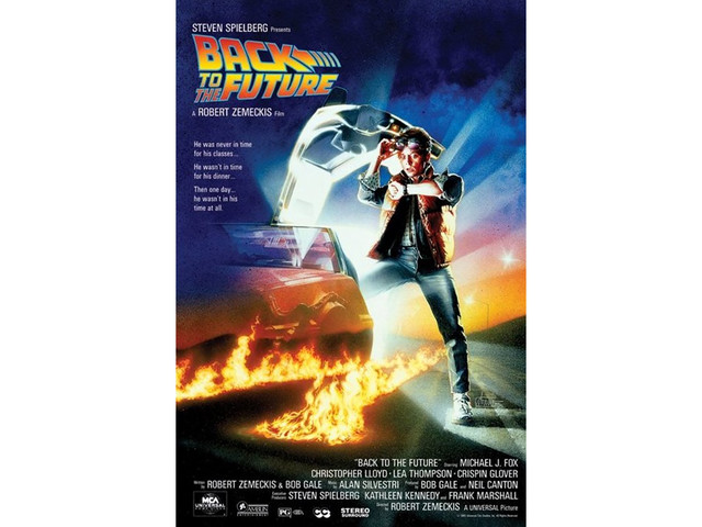 BACK TO THE FUTURE PART 1 POSTER