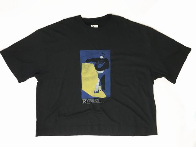 2-212-917 ROCKET PUNCH TEE [BLACK]