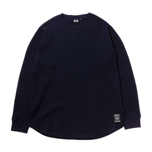 FOURTHIRTY 430 L/S LONG THERMAL C/S NVY サイズ1 (S)