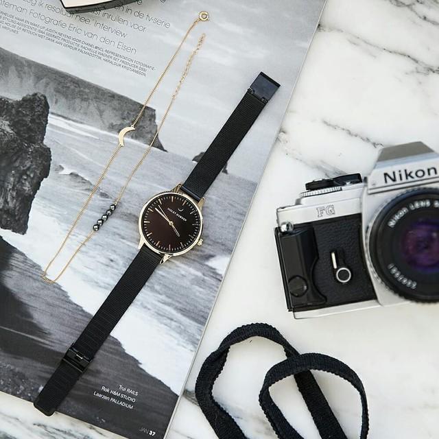■バイオレットハムデン 腕時計 NOWNESS 38㎜ VH00113