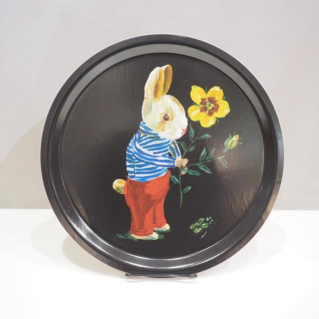 Nathalie Lete Bunny Round Tray