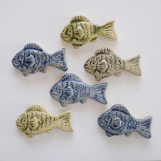 お魚箸置き  ヒネモスノタリ