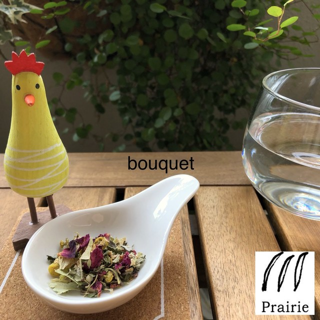 bouquet - ブーケ - / ブレンドハーブティー ギフト / リーフ小12g