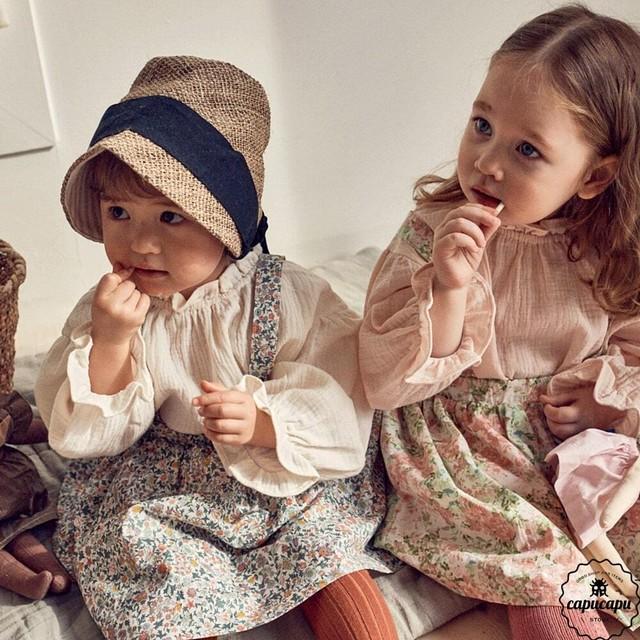 «予約»«pour enfant» エレナブラウス Elena blouse