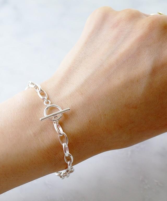 【ISOLATION / アイソレーション】silver925 Oval Chain Bracelet