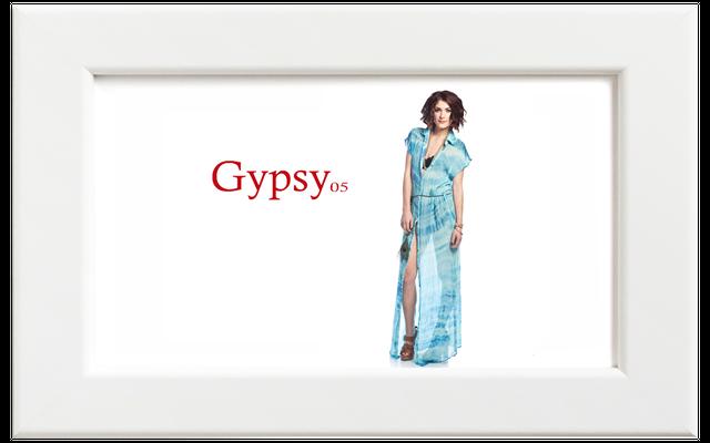Gypsy05/ジプシー05 ボタンアップマキシドレス