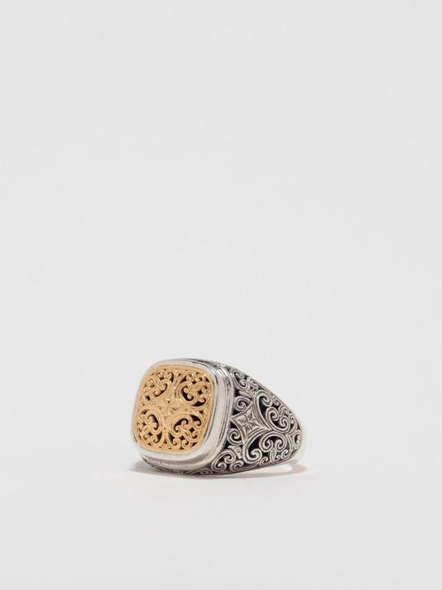 Mediterranean Round Shape Ring / Gerochristo