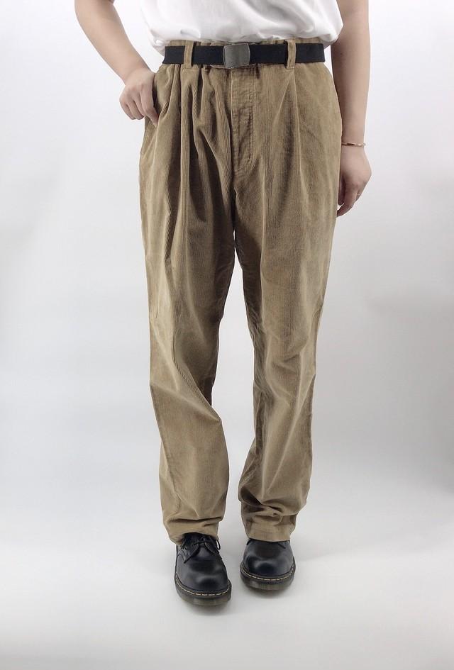 [used] autumn colour corduroy pants