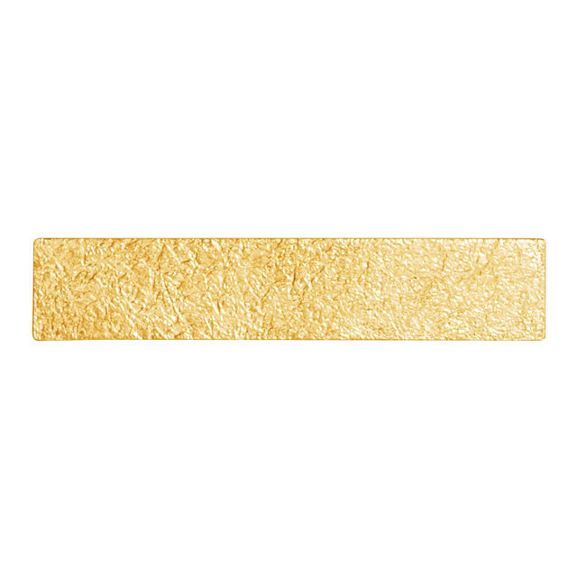 TIN BREATH 15x400mm Gold plate