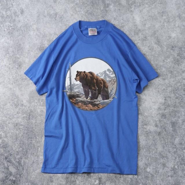 90年代 ONEITA アニマルTシャツ 熊 古着 A107