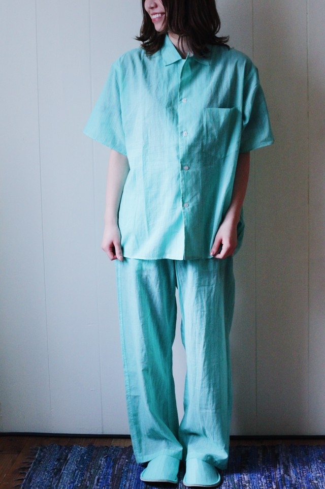 【loomer(ルーマー)】Khadi Cotton Short Sleeve Pajama