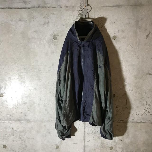[GIVENCHY]dark torn nylon jacket