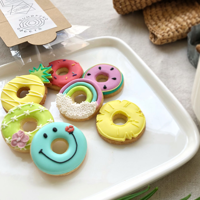 【5箱〜】Same Shapes - 夏のドーナツクッキー #ナツド