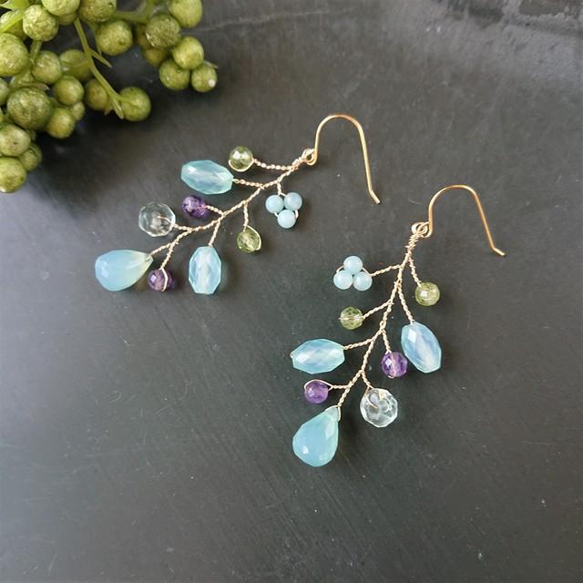 tree nuts pierce / earring  005
