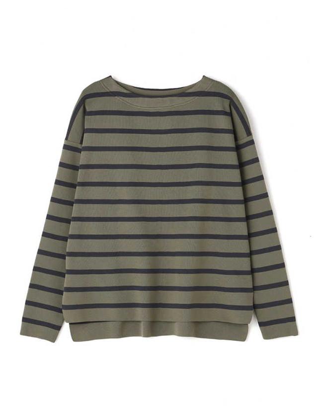 Strech border pullover Khaki / Luxluft