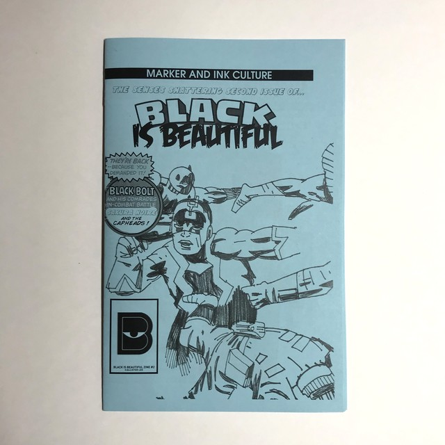 BLACK IS BEAUTIFUL ZINE ISSUE #2
