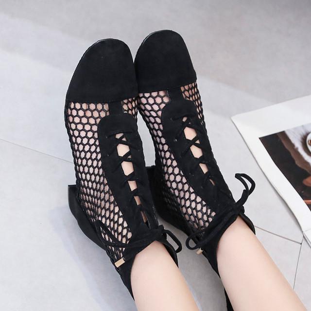 【shoes】魅力全開切り替えスタイリッシュ女性らしい印象スリッパ