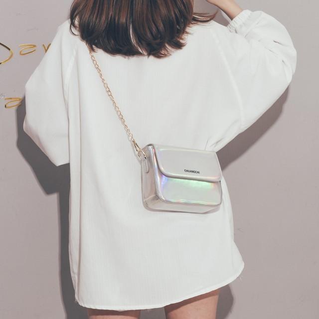 「バッグ 」ファッションマグネット斜め掛けポロエステルバッグ18757308