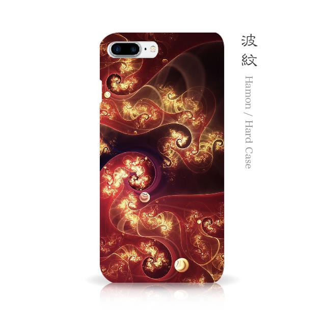 波紋 - 和風 iPhoneケース