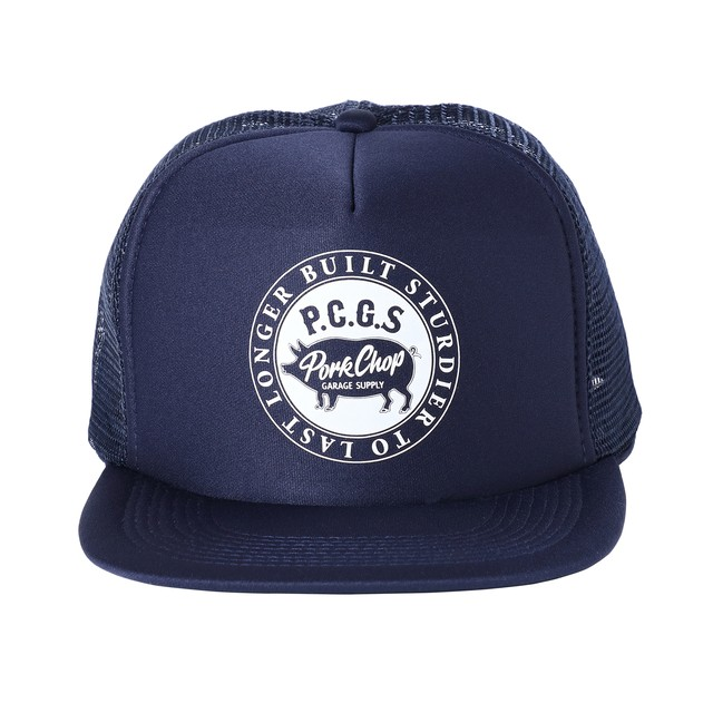 CIRCLE PORK CAP/NAVY