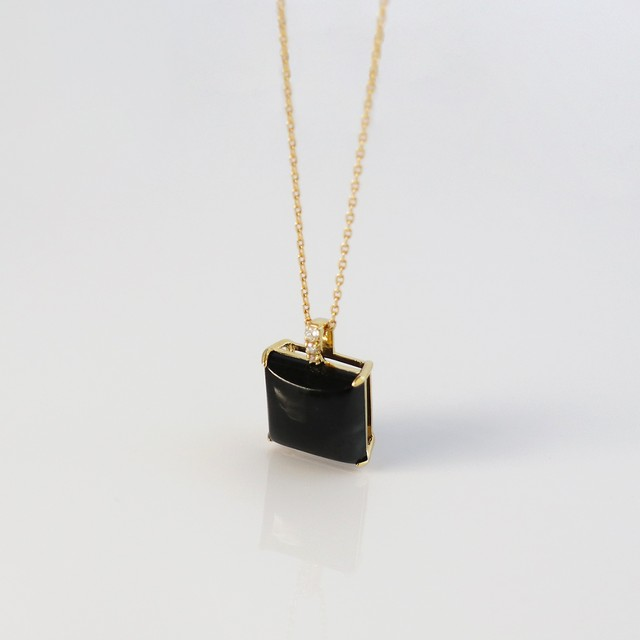 NAGI 'SUMI' / Necklace (Black)