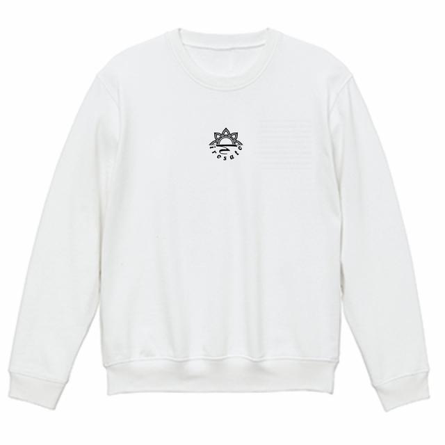 Mandala no.002 スウェットシャツ ホワイト