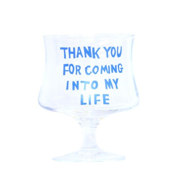 うそみたいなコップ (ご縁に感謝するグラス) 【1点モノ】