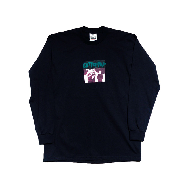 【COTTON PAN】 FAN EX kmd L/S Ts BLK GINZA PROOF-