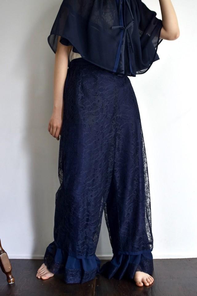 AKIRAFURUKAWA lace pants