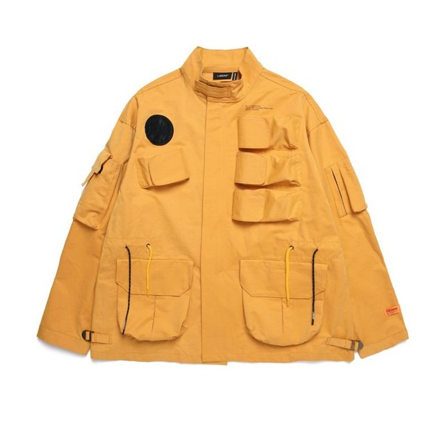 MIL MULTI POCKET JACKET / CAMEL