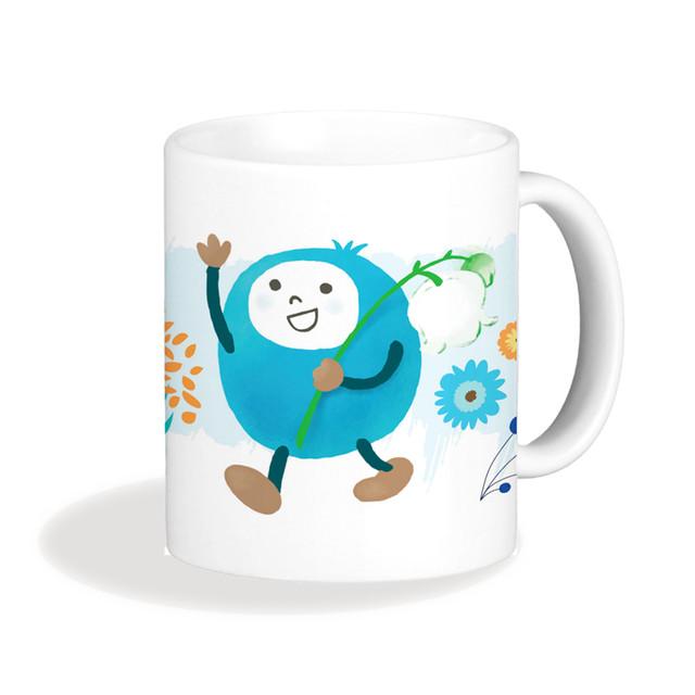 KORVIキャラクターマグカップ その1【5種(マルック・ピック・エェトゥ・リネア・ロッタ)】
