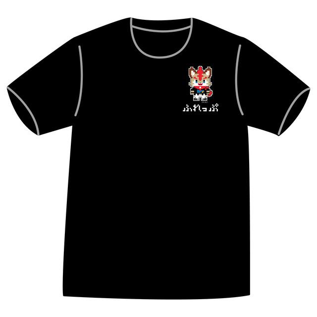ドットファイターズ 「フレップ」 Tシャツ ブラック