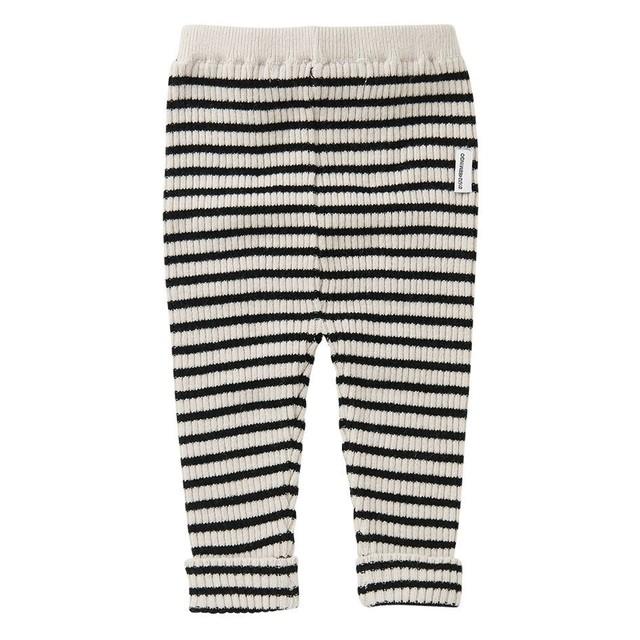 MINGO. / BABY PANTS[Stripes Black/White]