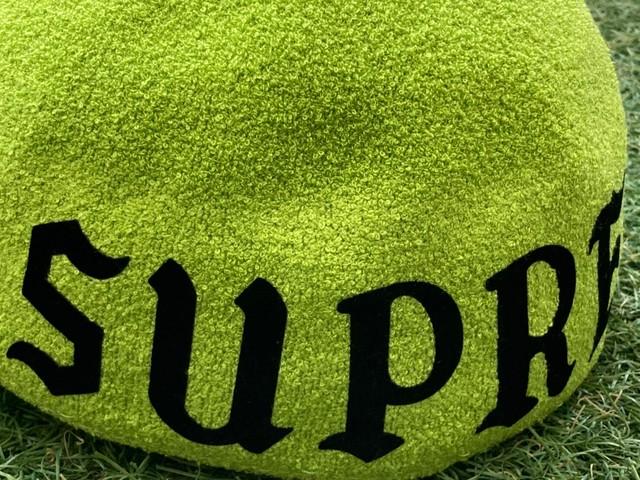 Supreme × KANGOL BERMUDA SPACE CAP LARGE BRIGHT GREEN 57734