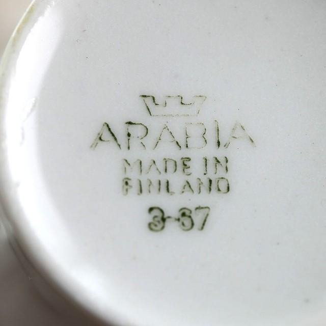 ARABIA アラビア Rio リオ ミルクピッチャー 北欧ヴィンテージ