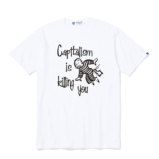 TOYPLANE / TP20-NTE08 / S/S CHILL OUT TEE