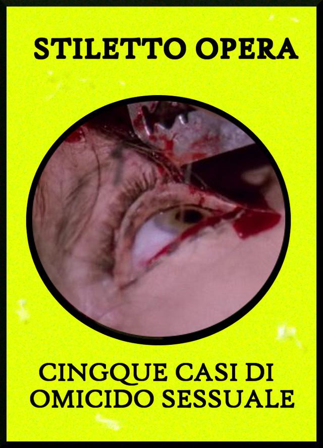 STILETTO OPERA - CINQUE CASI DI OMICIDO SESSUALE  Tape - メイン画像
